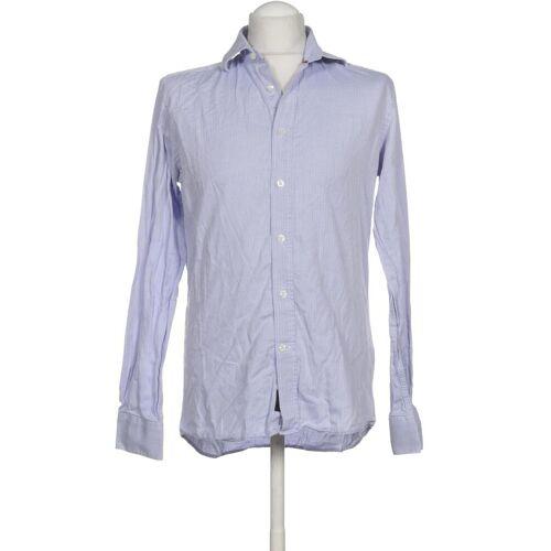 Duchamp Herren Hemd blau, KW DE 39, Baumwolle blau