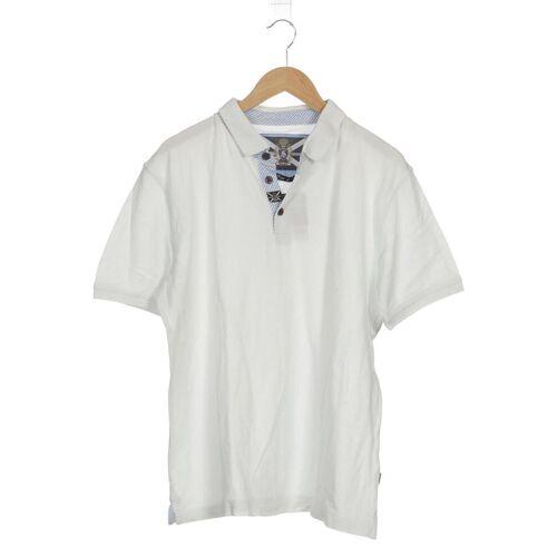 SIGNUM Herren Poloshirt weiß, INT L weiß