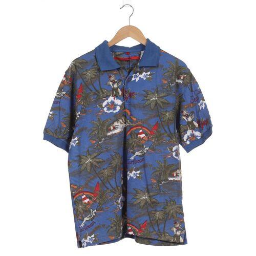 SIGNUM Herren Poloshirt blau, INT L blau