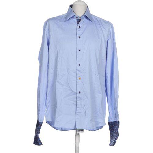 SOVRANO Herren Hemd blau, INT XL, Baumwolle blau