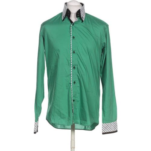 SOVRANO Herren Hemd grün, KW DE 41, Baumwolle 5BB580D grün