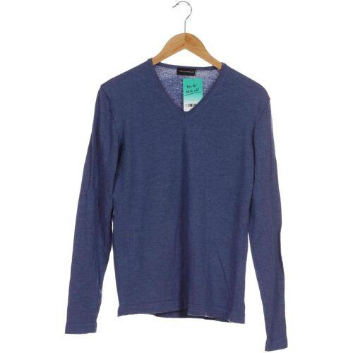 Theo Wormland Herren Pullover blau, INT L, Wolle blau