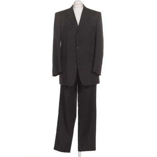 WILVORST Herren Anzug grau, DE 52, Wolle grau