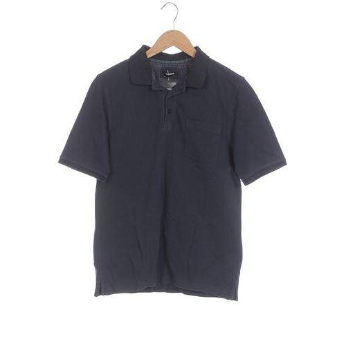 Walbusch Herren Poloshirt blau, INT L blau