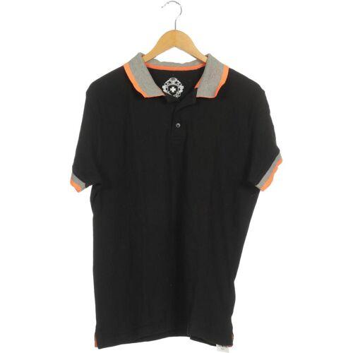 Wellensteyn Herren Poloshirt schwarz, INT XL, Baumwolle schwarz