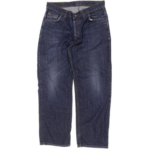Zimtstern Herren Jeans blau, INCH 34, Baumwolle blau