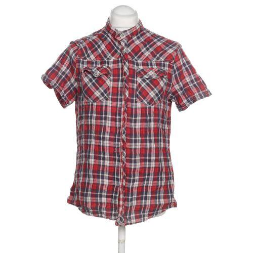 bershka Herren Hemd rot, INT XL, Baumwolle C6AD58E rot