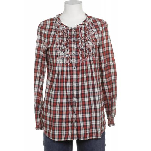 0039 Italy Damen Bluse rot, INT M rot