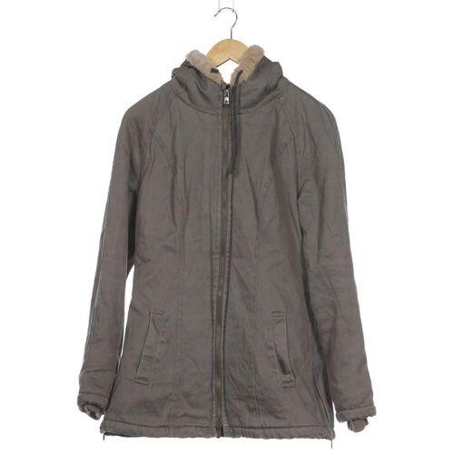 Hoodlamb Damen Jacke grau, INT M, Baumwolle Synthetik grau