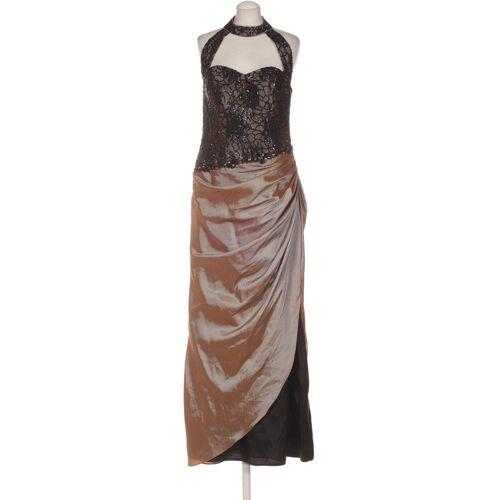 Kleemeier Damen Kleid braun, DE 40, Synthetik braun