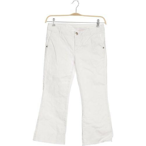 Maryley  Damen Jeans weiß, INT S weiß