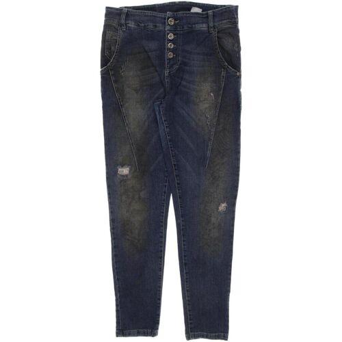 Maryley  Damen Jeans blau, DE 40 blau