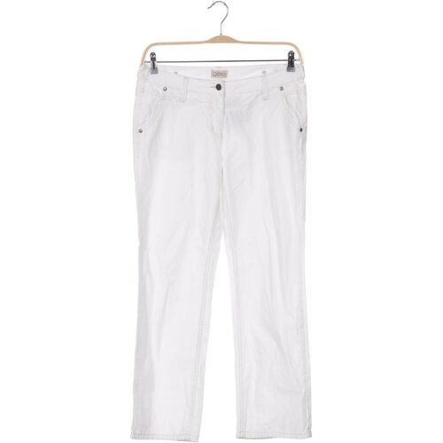 Qiero Damen Jeans weiß, EUR 40, Baumwolle weiß
