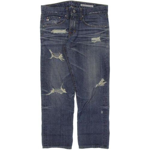 AG Adriano Goldschmied Damen Jeans blau, Kurz-Gr. 27 blau