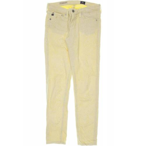 AG Adriano Goldschmied Damen Jeans gelb, INCH 28 gelb
