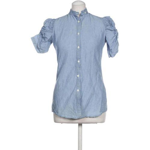 AGLINI Damen Bluse blau, DE 42 blau