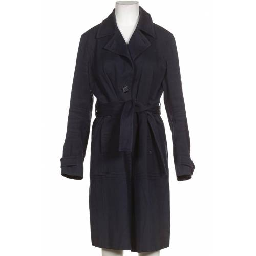 Aigner Damen Mantel blau, DE 38, Baumwolle blau