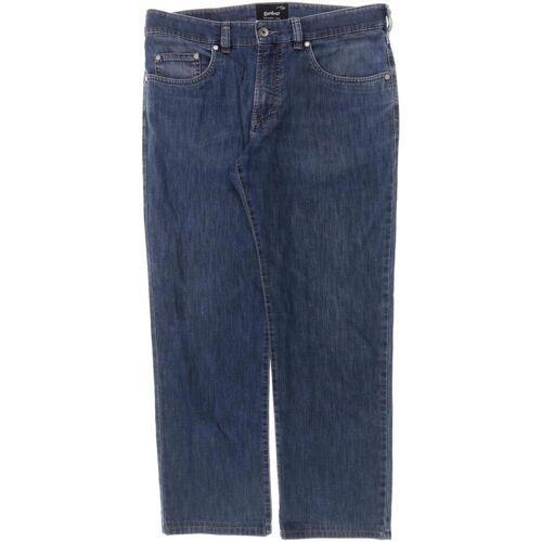 Atelier Gardeur Damen Jeans blau, Kurz-Gr. 24, Elasthan Baumwolle Synthetik 40FAC4F blau