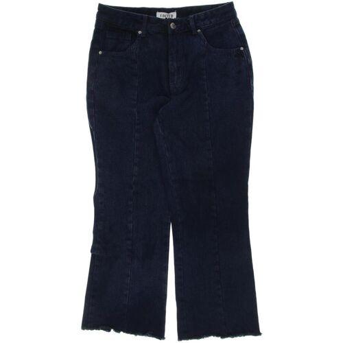 EDITED THE LABEL Damen Jeans blau, EUR 40 blau