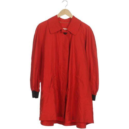 Escada Damen Mantel rot, DE 38, Synthetik rot