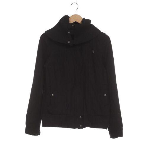 Fenchurch Damen Jacke schwarz, INT M, Synthetik Wolle Viskose schwarz