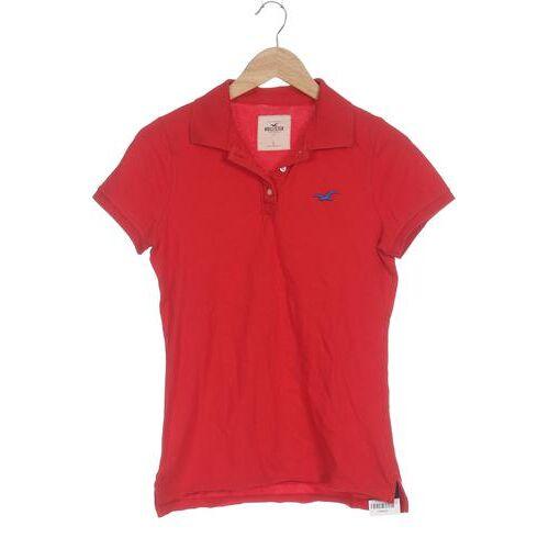 Hollister Damen Poloshirt rot, INT L rot