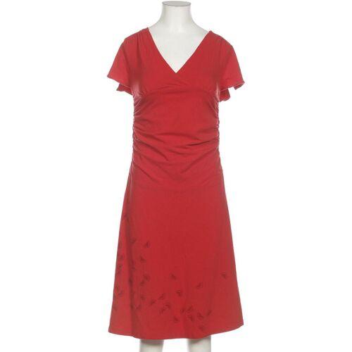 Hookahey Damen Kleid rot, INT M, Elasthan Baumwolle Seide rot