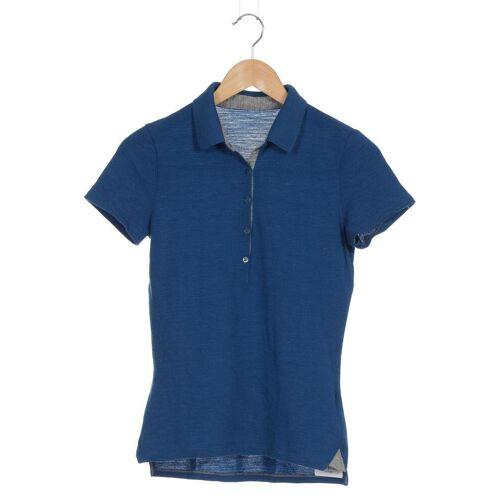 Icebreaker Damen Poloshirt blau, INT S blau