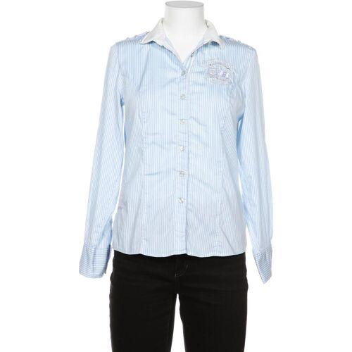 L´Argentina Damen Bluse blau, DE 38 blau