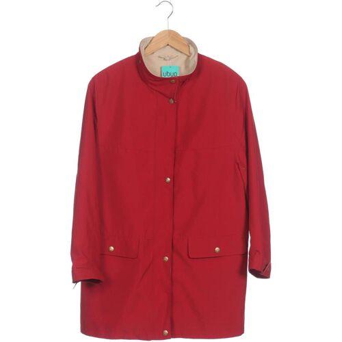 Lebek Damen Mantel rot, DE 42, Synthetik rot