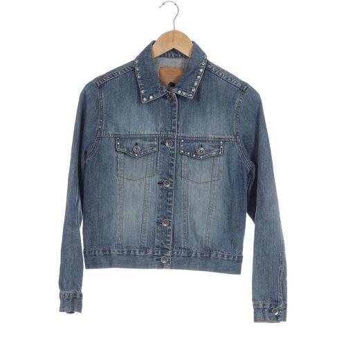 MALVIN Damen Jacke blau, INT S, Baumwolle blau