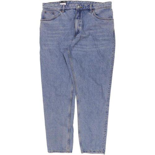 MONKI Damen Jeans blau, INCH 36, Baumwolle blau
