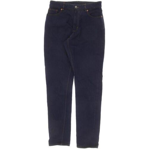 MONKI Damen Jeans blau, INCH 28, Baumwolle blau
