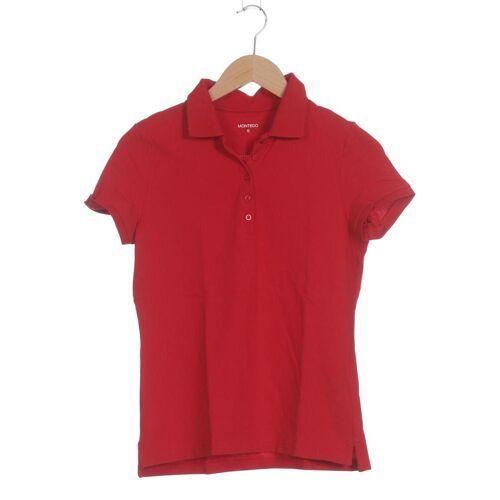 Montego Damen Poloshirt rot, INT S, Elasthan Baumwolle rot