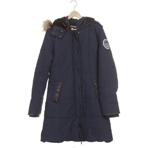 NICKELSON Damen Mantel blau, INT XL, Synthetik blau