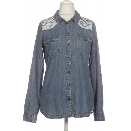 OBJECT Damen Bluse blau, DE 38 blau