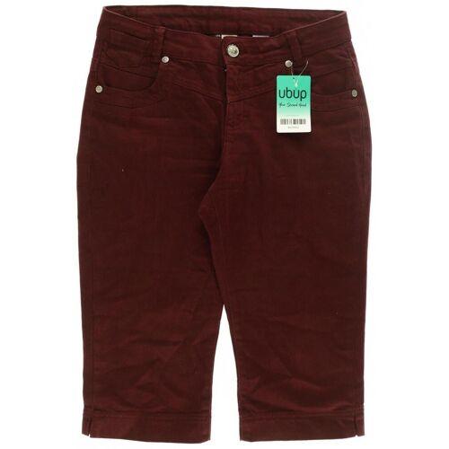 Qiero Damen Shorts rot, DE 34, Elasthan Baumwolle Jeans B1B0171 rot