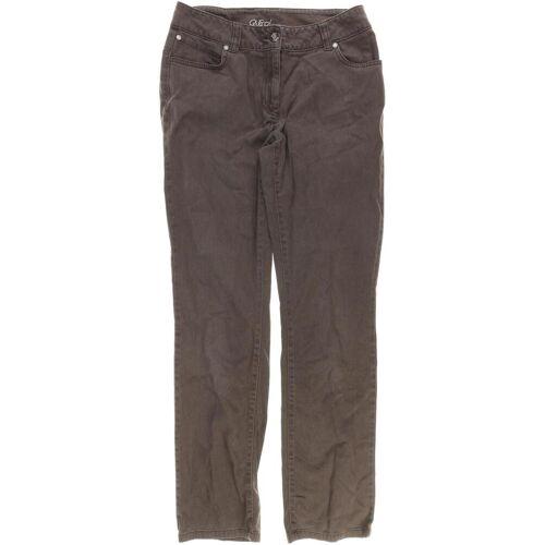 Qiero Damen Jeans braun, DE 38, Elasthan Baumwolle DB5B4E1 braun