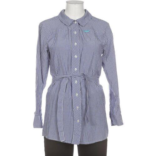SHISHA Brand Damen Bluse blau, INT L, Baumwolle blau