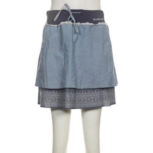 SHISHA Brand Damen Rock blau, INT XS, Baumwolle blau