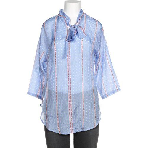 Sandro Damen Bluse blau, SANDRO 2, Seide blau
