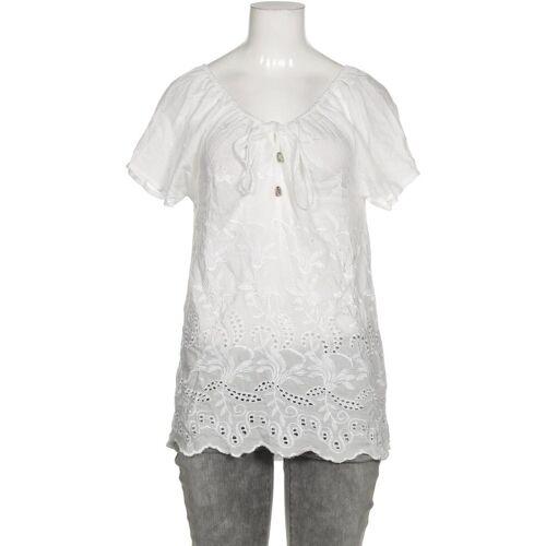 TRAMONTANA Damen Bluse weiß, INT XS, Viskose weiß