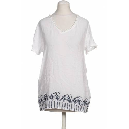 TRAMONTANA Damen Bluse weiß, INT S, Viskose weiß