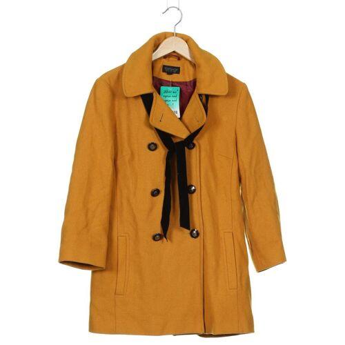 Topshop Damen Mantel gelb, EUR 36 gelb