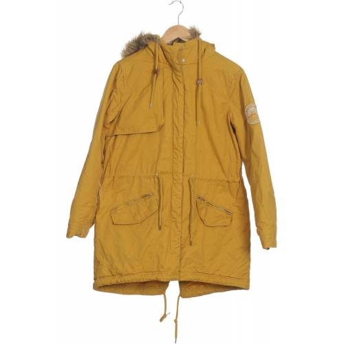 Twintip Damen Mantel gelb, INT M, Baumwolle Synthetik gelb