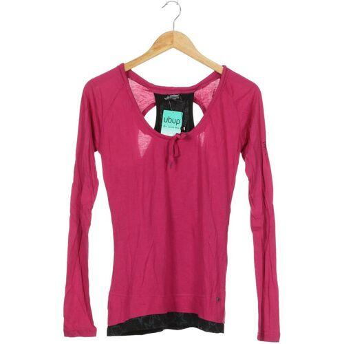 Zimtstern Damen Langarmshirt pink, INT L, Baumwolle Viskose pink