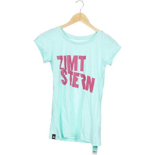 Zimtstern Damen T-Shirt grün, INT XS, Baumwolle grün