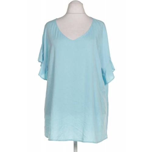 Zizzi Damen Bluse blau, INT 4XL blau
