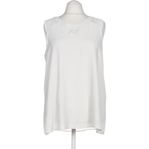 Zizzi Damen Bluse weiß, INT M weiß