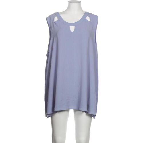Zizzi Damen Bluse blau, INT 5XL blau